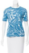 Tory Burch Linen Printed T-Shirt