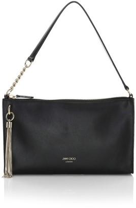 Jimmy Choo Mini Callie Tassel Leather Shoulder Bag