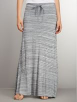 New York & Co. Love NY&C Collection - Drawstring Space-Dyed Maxi Skirt