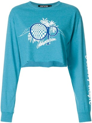 Adaptation logo print sweatshirt