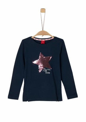 S'Oliver Girl's 53.911.31.7473 Long Sleeve Top