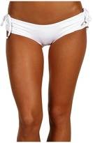 Vitamin A Silver Swimwear - White Hot Reversible Doheny Boycut Bikini Pant