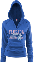 Soffe Florida Gators True Royal Rugby V-Neck Hoodie - Women