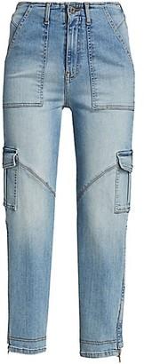 JONATHAN SIMKHAI STANDARD Payton High-Rise Cargo Jeans