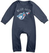 Enlove Toronto Blue Jays BABY Geek Long Sleeves Baby Onesies Jumpsuit For Toddler Size 6 M