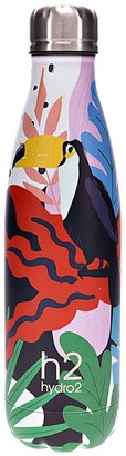 Hydro2 Togo Vacuum Double Wall Stainless Steel Water Bottle 500ml Toucan