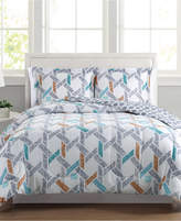 Pem America Flynn Reversible 3-Pc. Full/Queen Comforter Set, a Macy's Exclusive Style Bedding