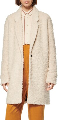 Andrew Marc Curly Boucle Coat