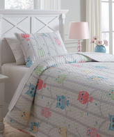 Signature Design by Ashley Lucille Coverlet & Shams