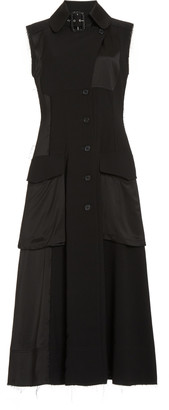 J.W.Anderson Pocket-Detailed Crepe Midi Cargo Dress