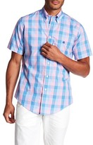 Brooks Brothers Plaid Short Sleeve Slim Fit Shirt