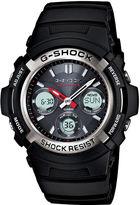 G-Shock G SHOCK Mens Multi Band 6 Solar Watch AWGM100-1ACR