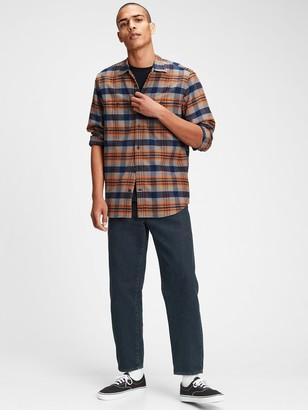 Gap Pocket Flannel Shirt in Standard Fit