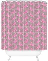 Deny Designs Leaping Tigers Shower Curtain