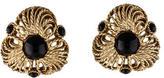 Oscar de la Renta Resin Clip-On Earrings