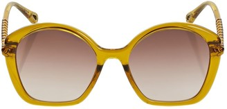 Chloé Billie Oversize Squared Sunglasses