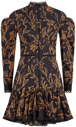 Acler Printed Howard Mini Dress