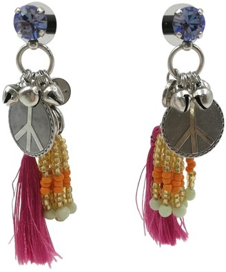Reminiscence Pink Crystal Earrings