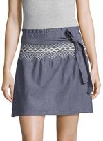 Current/Elliott The Short Rancher Flared Skirt