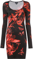 Just Cavalli tulip fitted dress