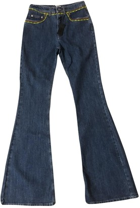 Miu Miu Blue Denim - Jeans Jeans for Women