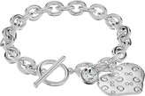 GUESS Logo Heart Toggle Bracelet