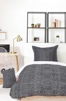 Deny Designs Holli Zollinger Marrakeshi Denim Bed In A Bag Duvet Cover, Sham & Accent Pillow Set