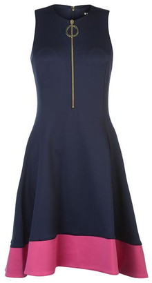 DKNY Occasion Slim Line Fit and Flare Dress Ladies