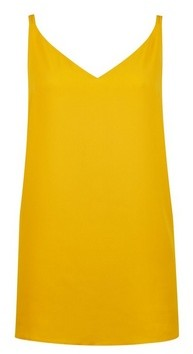 Dorothy Perkins Womens **Tall Yellow Camisole Top
