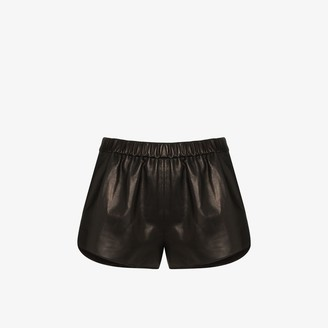 Tom Ford Short Elasticated Leather Shorts