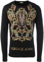 Versace tribal mask sweatshirt