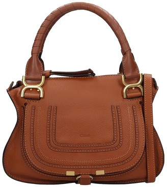 Chloé Mercie Small Hand Bag In Leather Color Leather