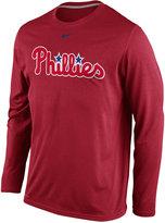 Nike Men's Long-Sleeve Philadelphia Phillies Legend T-Shirt