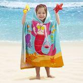 Bed Bath & Beyond Kids' Mermaid Velour Hooded Towel in Pink/Blue