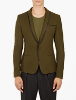 Haider Ackermann Proud Wool Tuxedo Jacket