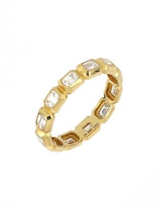 Bony Levy Katharine Emerald Cut Diamond Eternity Ring