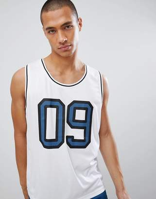 Another Influence Baseball Vest-White