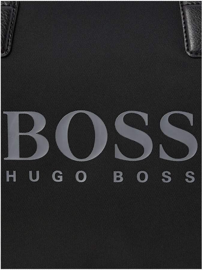 HUGO BOSS Pixel Large Logo Holdall