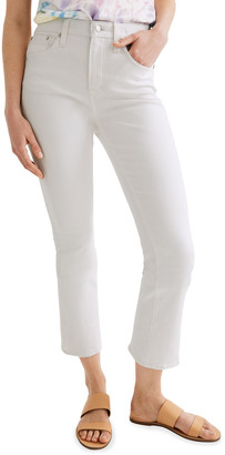 Madewell Cali Demi-Boot Jeans w/ Clean Hem