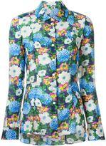 Carven floral print shirt - women - Cotton - 38