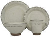 Sango Cyprus White 16-Piece Dinnerware Set