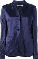 Jil Sander crushed velvet blazer