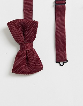 Gianni Feraud knitted bow tie