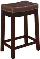 Asstd National Brand Claridge Patches Brown Counter Stool