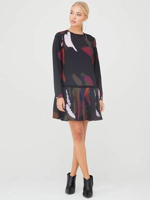 Ted Baker RosarnSapphire Printed Long Sleeve Tunic - Black