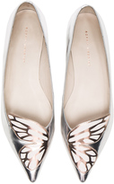 Sophia Webster Leather Bibi Butterfly Flats