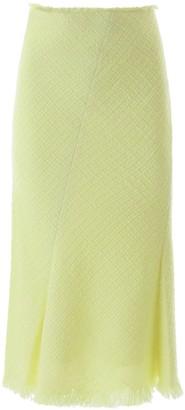 Alexander Wang Tweed Midi Skirt