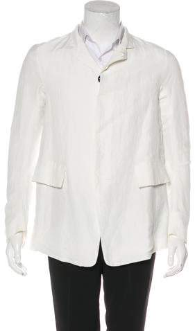 Y/Project Trapeze Linen-Blend Jacket w/ Tags