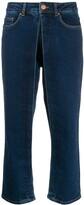 Aalto straight-leg trousers