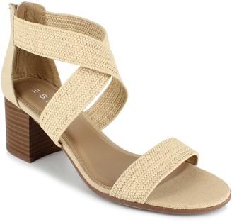 Esprit Criss Cross Woven Sandals - Tianna